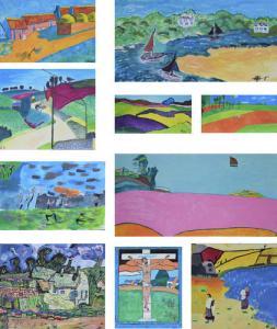 exposition peinture locminé