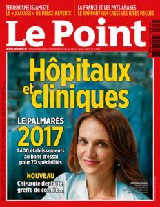 Le Point - Hôpitaux et cliniques - Palmares 2017
